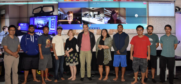 CyberCANOE Club Provides Forum for Hawaiians to Collaborate and Share Best Practices Regarding Tiled Displays and SAGE2™